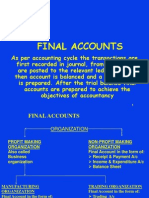 Final Account BBA