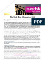 COP17 Daily Tck 4 1/Dec