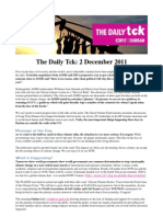 COP17 Daily Tck 5 2/Dec