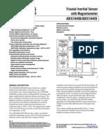 Accelerometro Goroscopio Magneto Metro 3 Ejes ADIS16400_16405