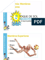 Curso Anatomia Membros Superiores