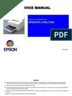 Epson EPL 5700L Service Manual