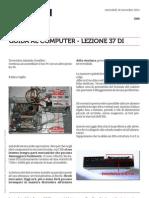 Guida al Computer - Lezione 37