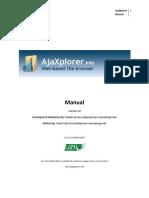 AjaXplorer Manual v1.00