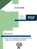 Ecologia Sesion II