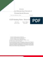 G1279 Drinking Water- Nitrate-Nitrogen