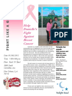 Danielle Andre's Fight Against Breast Cancer