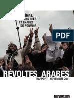 Bilan des révoltes arabes