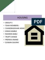 Grop 5 Housing