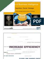 CIO 100 2011 - The Future of Business Intelligence - Dennis Karanja - SAP