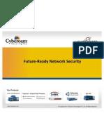 Future Ready Network Security Cyberoam