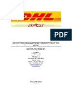 Power Saving Initiatives_DHL Express