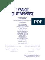 Wilde, Oscar-Il Ventaglio di Lady Windermere