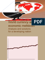 World Currency and Economic Meltdown