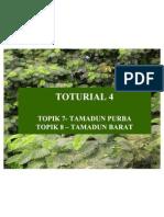 TOTURIAL 4