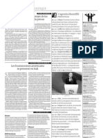 En Afrique du Sud, un projet de loi menace la liberté de la presse (4 décembre 2011, Le Monde)