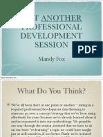 Hoover PD Presentation