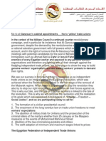 Egyptian Federation of Independent Trade Unions