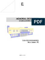 Memorial Descritivo - Casa ENG[1]