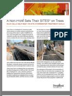 California; Urban Trees Control Stormwater Runoff