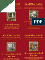 Karma Cards 1-4