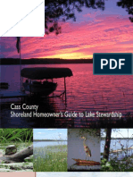 Minnesota; Shoreland Homeowner's Guide to Lake Stewardship - Cass County