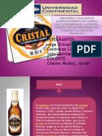Cerveza Cristal .Comportmnt or