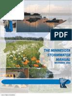 Minnesota; Stormwater Manual