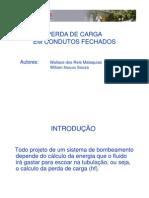 perda carga apresentação pi-2011