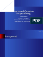 Thorsten Altenkirch- Functional Quantum Programming