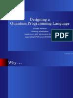Thorsten Altenkirch- Designing a Quantum Programming Language