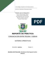 Comunicación Fedora Debian