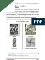 Escher Exhibition-Escher and Topology _4º ESO_