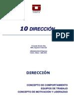 10. to y Equipos de Trabajo Direccion