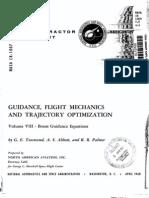 Nasa Cr Guidance Flight Mechanics and Trajectory Optimization Volume8