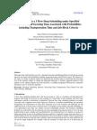 Bi Criteria in n x 3 Flow Shop Scheduling Under Specified Rental Policy (2)