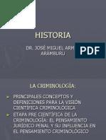 1 Curso Chetumal Historia Etapas Criminologia