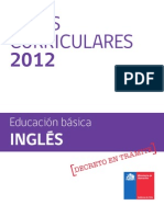 Base Curricular 2012 Inglés 13-11-11