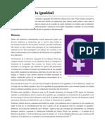 feminismo de la igualdad