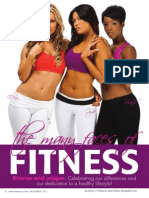 """THE MANY FACES OF FITNESS"""