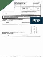 Jorge A Solis Financial Disclosure Report for 2004