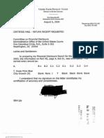 Jr Solomon Blatt Financial Disclosure Report for 2003
