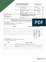 Susan D Wigenton Financial Disclosure Report for 2008