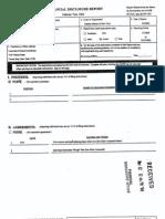 Arthur D Spatt Financial Disclosure Report for 2003