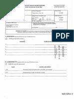 Arthur D Spatt Financial Disclosure Report for 2008