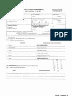 Joseph M Hood Financial Disclosure Report for 2009