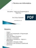 Algoritmos e Linguagens de Programação2