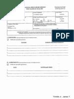 James T Trimble Financial Disclosure Report for 2009