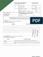 Orlando L Garcia Financial Disclosure Report for 2009