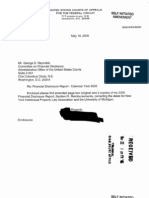 Timothy B Dyk Financial Disclosure Report for 2005